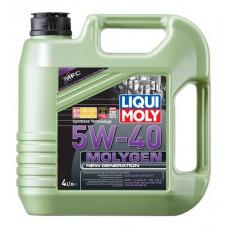 Liqui Moly 9053 масло моторное Molygen New Generation SAE 5W40 SN/CF 1L