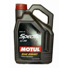 Масло моторное MOTUL SPECIFIC BMW LL-04 SAE 5W40 5L (№101274)