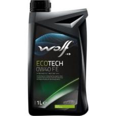 Масло моторное WOLF ECOTECH SAE 0W40 FE 1L (8320507)