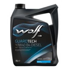 Масло моторное WOLF GUARDTECH SAE 10W40 B4 DIESEL 4L (8303715)