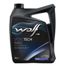 Масло моторное WOLF VITALTECH SAE 5W50 5L (8314728)