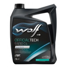 Масло моторное WOLF OFFICIALTECH SAE 5W30 C4 1L (8308314)