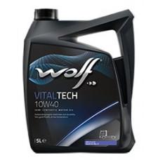 Масло моторное WOLF VITALTECH SAE 10W40 DIESEL CI-4/SL Е7 бочка 205L розлив