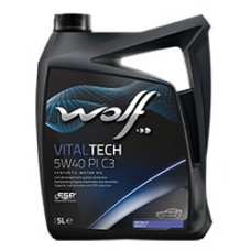 Масло моторное WOLF VITALTECH SAE 5W40 PI C3 4L (8302916)