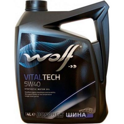 Масло моторное WOLF VITALTECH SAE 5W40 4L (8311192)