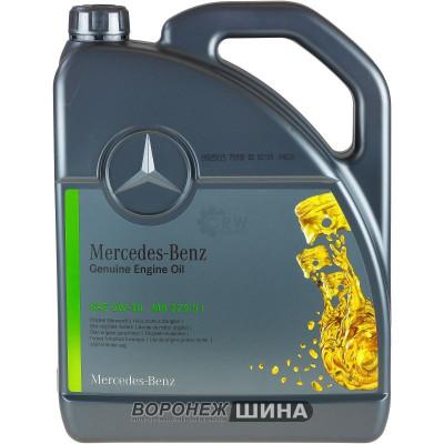 Масло моторное Mercedes-Benz 229.51 SAE 5W30 5L (№А000989760213 BLER)