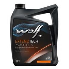 Масло трансмиссионное WOLF EXTENDTECH 75W90 GL5 20L (8302053)
