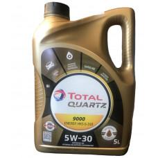Масло моторное Total Quartz 9000 Energy HKS SAE 5W30 5L