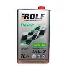 Масло моторное ROLF Energy SAE 10W40 SL/CF 1L
