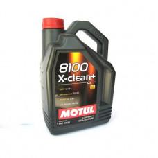 Масло моторное MOTUL 8100 X-clean+ SAE 5W30 SM/CF 5L (№106377)