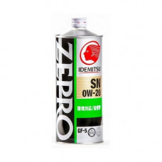 Масло моторное IDEMITSU Zepro Eco Medalist SAE 0W20 SN/GF-5 1L (№3583001)