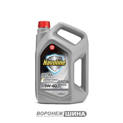 Масло моторное TEXACO Havoline Ultra S SAE 5W40 4L