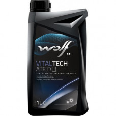 Масло трансмиссионное WOLF VITALTECH ATF Dexron III 1L (8305306)
