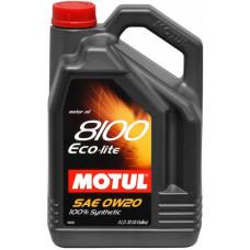 Масло моторное MOTUL 8100 Eco-Lite SAE 0W20  5L (№104983)