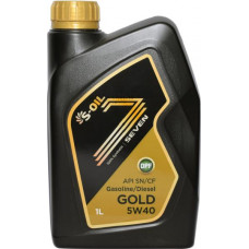 Масло моторное S-OIL GOLD SAE 5W40 SN/CF 1L