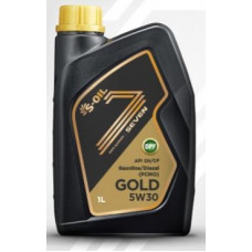 Масло моторное S-OIL GOLD SAE 5W30 SN/CF 1L