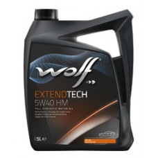 Масло моторное WOLF EXTENDTECH SAE 5W40 HM 4L (8321382)
