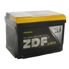 АКБ 6СТ-60п/п  ZDF Premium (низкий) (640A)