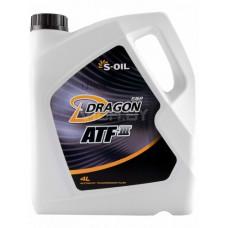 Масло трансмиссионное S-OIL DRAGON 80W90 GL-5 20L