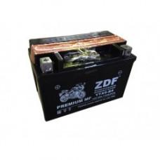 АКБ Мото ZDF 1209.1  MF BLACK  (прямая)   (YTX9-BS)+электролит