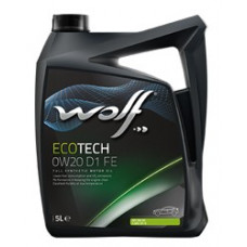 Масло моторное WOLF ECOTECH SAE 0W20 D1 FE 4L (8331749)