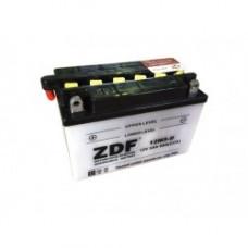 АКБ Мото ZDF 1205.1  Dry charged (прямая)   (12M5-D)+электролит