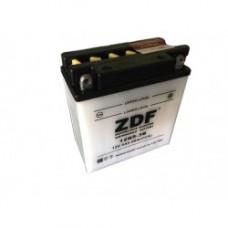 АКБ Мото ZDF 1205.2  Dry charged (обратная)   (12N5-3B)+электролит