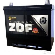 АКБ 6СТ-50о/п  ZDF Premium ASIA уз. клеммы 55B24L(420A)