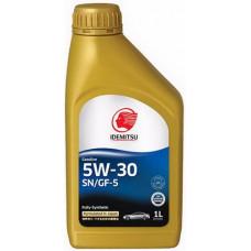 Масло моторное IDEMITSU F-S SAE 5W30 SN/GF-5 1L (№30011328724)