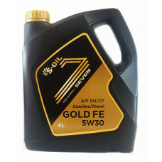 Масло моторное S-OIL SEVEN GOLD FE SAE 5W30 SN/CF 4L
