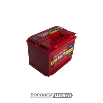 АКБ 6СТ-62о/п UNIX Professional низкий (620A)(60)