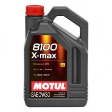 Масло моторное MOTUL 8100 X-max SAE 0W30 SL 4L (№106601)