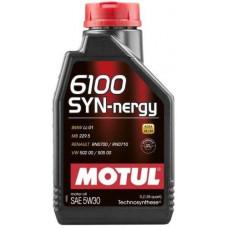 Масло моторное MOTUL 6100 SYN-nergy SAE 5W30 1L (№107970)