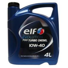 Масло моторное ELF Evolution 700 TURBO DIESEL SAE 10W40 4L