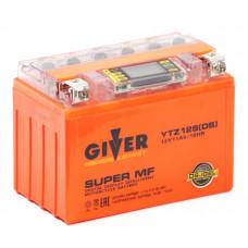АКБ Мото Giver Energy 1211 GEL (YTZ12S)