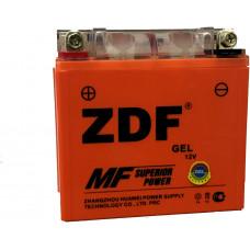 АКБ Мото ZDF 1212.2  GEL (прямая)   (YTX12-BS)