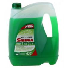 Антифриз SIBIRIA-40 зелёный 10л.