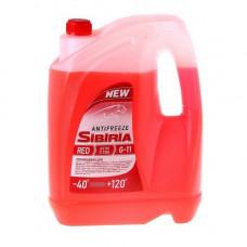 Антифриз SIBIRIA-40 G11 красный 10л.
