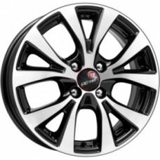 Диск Remain (Vector) R161 (Hyundai Solaris lI) 6,0x15 4/100 ET46 D54,1 алмаз черный Арт.16101AR