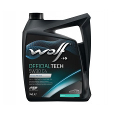 Масло моторное WOLF OFFICIALTECH SAE 5W30 C4 4L (8308413)