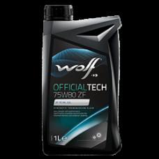 Масло трансмиссионное WOLF OFFICIALTECH 75W80 1L (8338953)