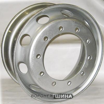 Диск SRW 8,25х22,5 10/335 D281 ЕТ152 (7228201) серебро