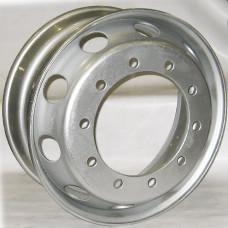 Диск Mefro (Accuride) 9,00х22,5 10/335 D281 ET175  серебро (373-3101012-01) (с внутр. вент.)