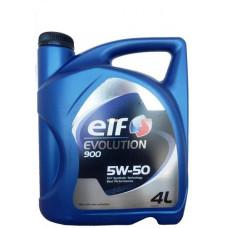 Масло моторное ELF Evolution 900 SAE 5W50 4L