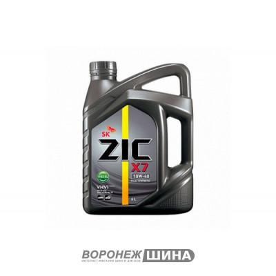 Масло моторное ZIC X7 Diesel SAE 10W40 6L (№172607)