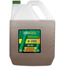 Масло индустриальное OIL RIGHT И-20А веретённое 10L (№2591)