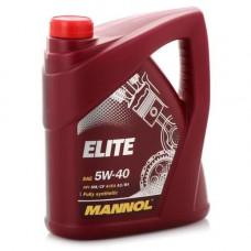 Масло моторное Mannol Elite SAE 5W40 4L (№1006)