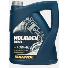 Масло моторное Mannol Molibden Diesel SAE 10W40 5L (№1126)