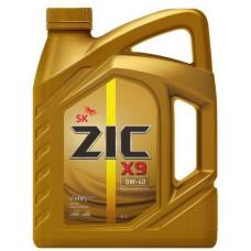 Масло моторное ZIC X9 SAE 5W40 SN/CF 4L (№162902)