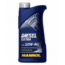 Масло моторное Mannol Diesel Extra SAE 10W40 1L